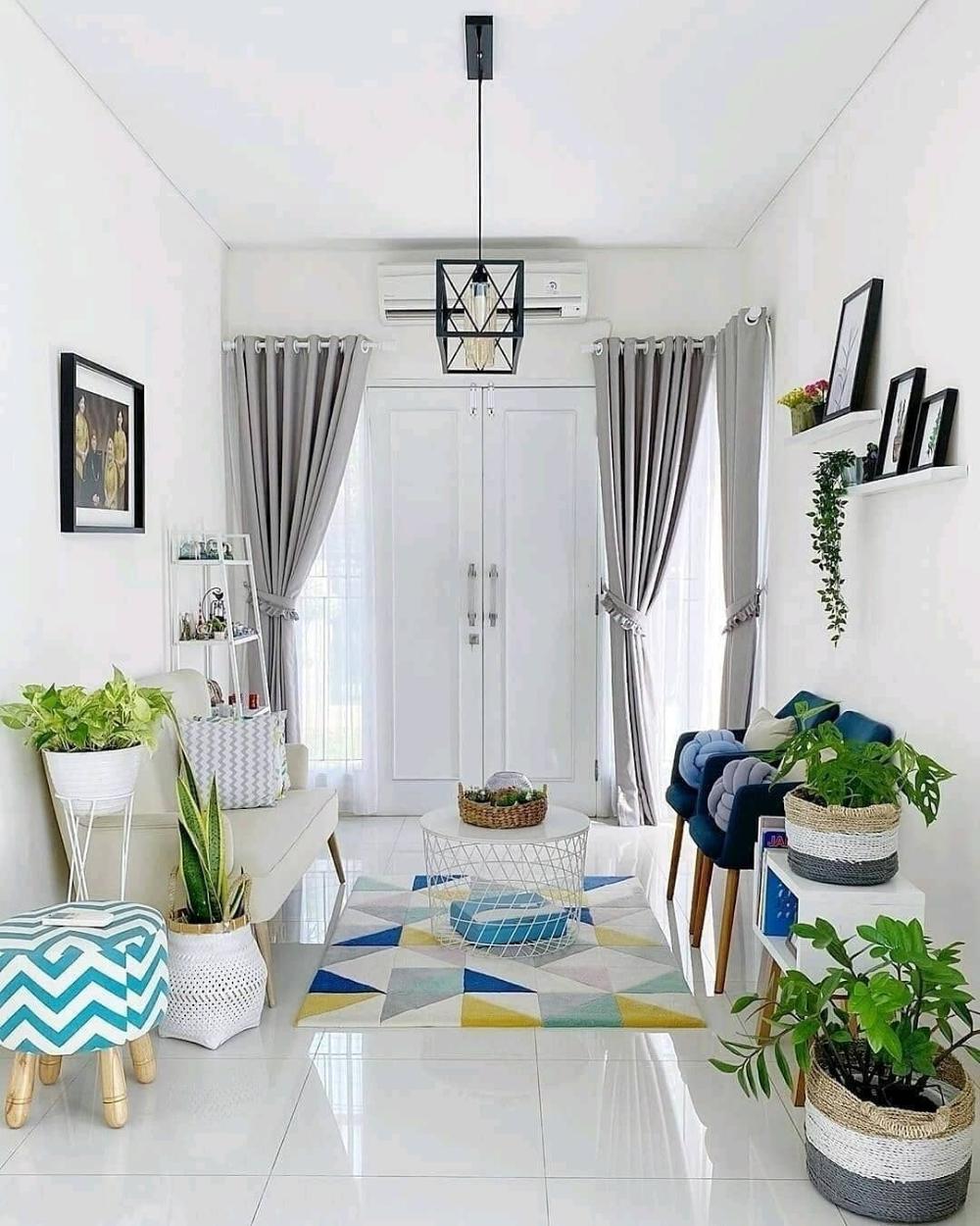 Warna Cat Tembok Ruang Tamu Yang Bagus Warna Putih Nampak