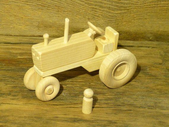 Jouet bois jouets en bois de ferme tracteur agricole - Construire des jouets en bois gratuit ...