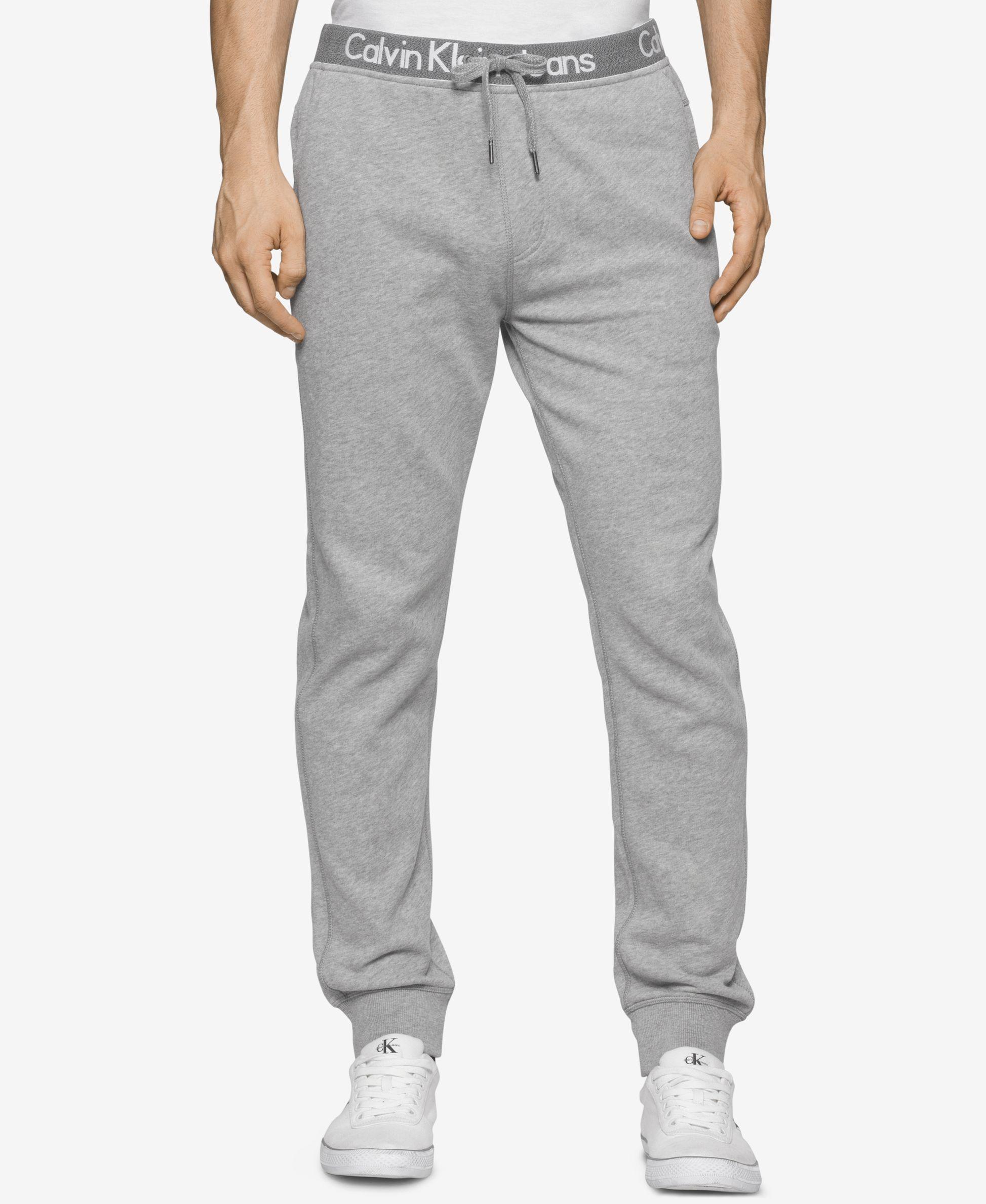 c30ed9510f Calvin Klein Men s Logo Waistband Sweatpants