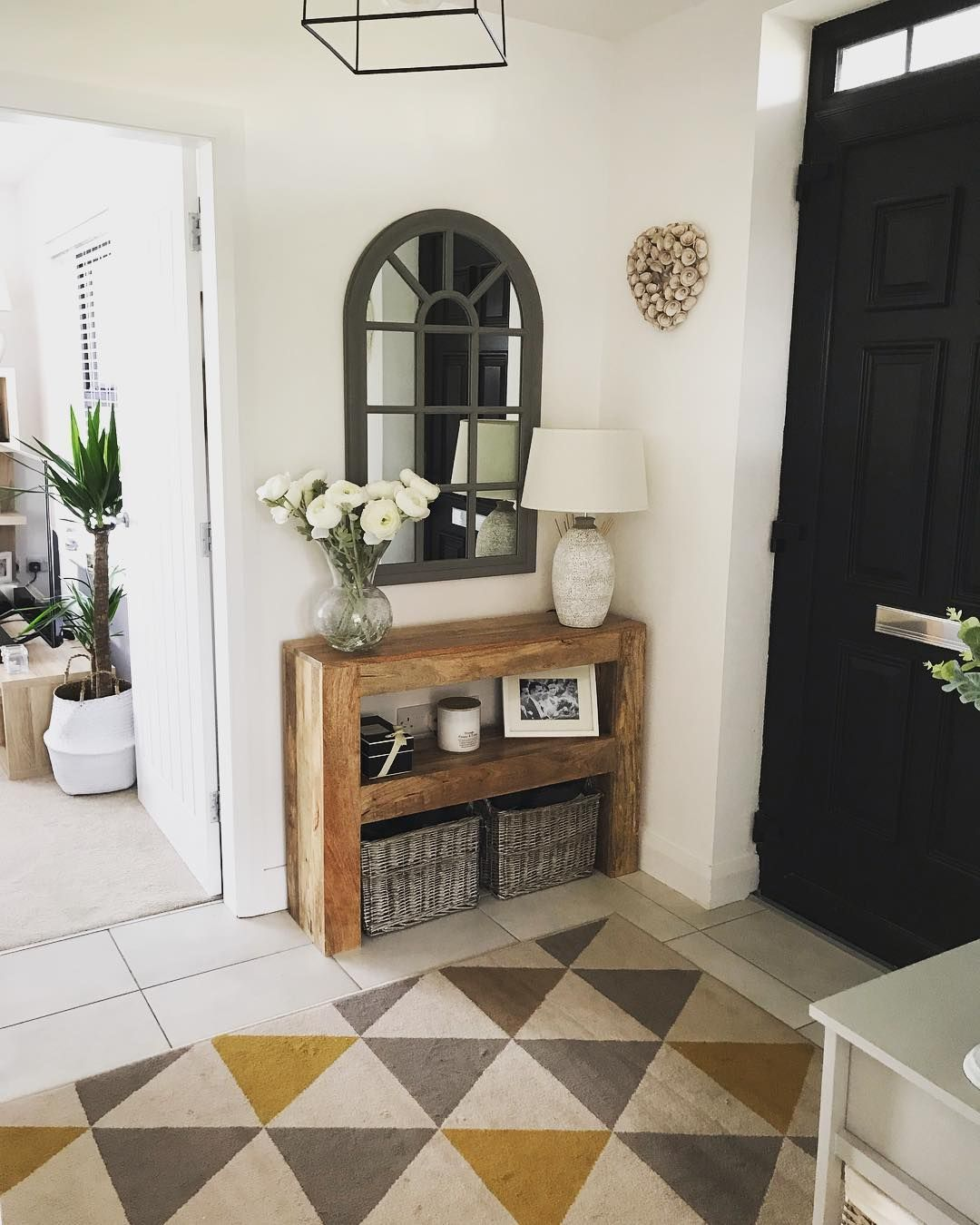 as styled by you hallway by oak furniture land in 2020 on small entryway console table decor ideas make a statement with your home s entryway id=29376