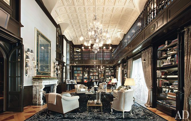 Pin de Jeffrey Deane en spaces Pinterest La biblioteca - bibliotecas modernas en casa