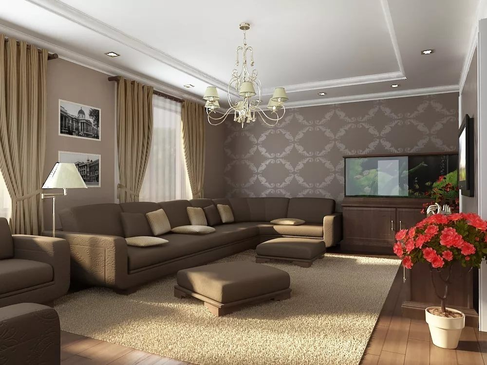 простой дизайн гостиной в картинках тюркских семьях