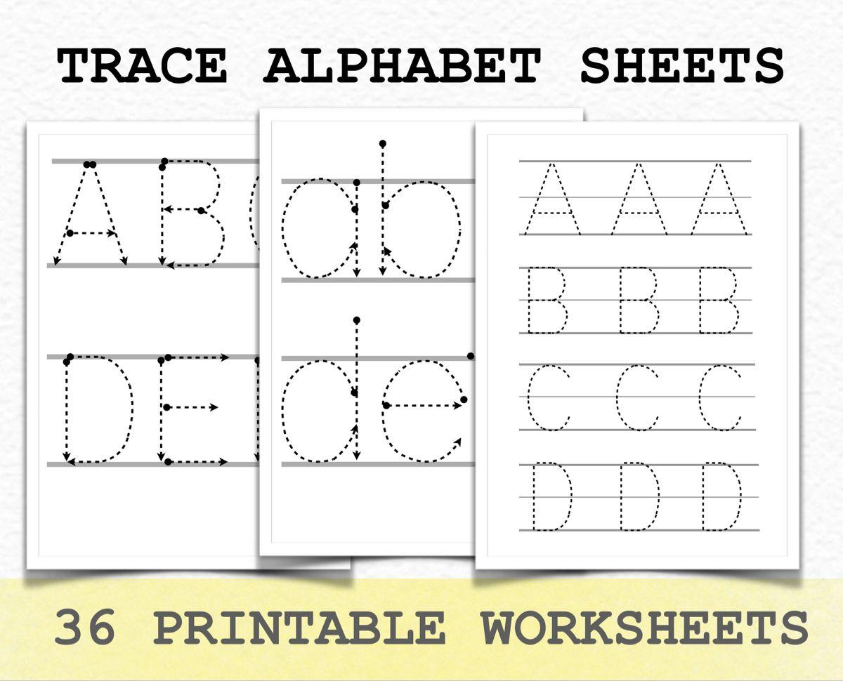 Tracing Alphabet In