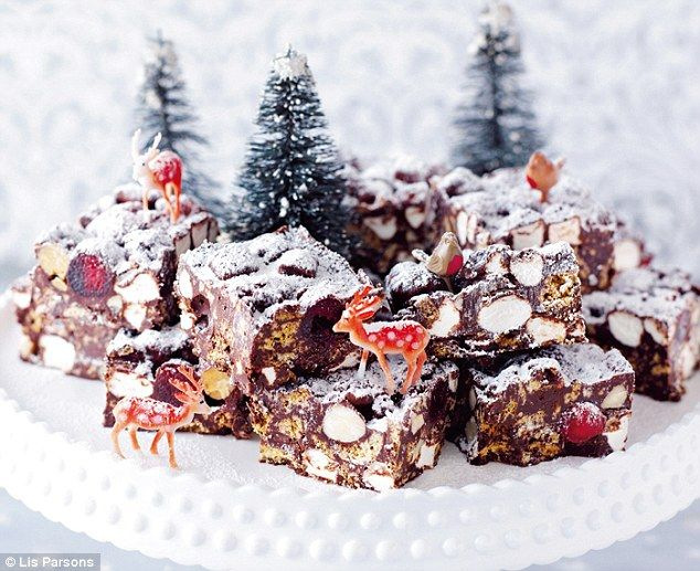 All-star Nigella Christmas: Christmas rocky road | Daily Mail Online