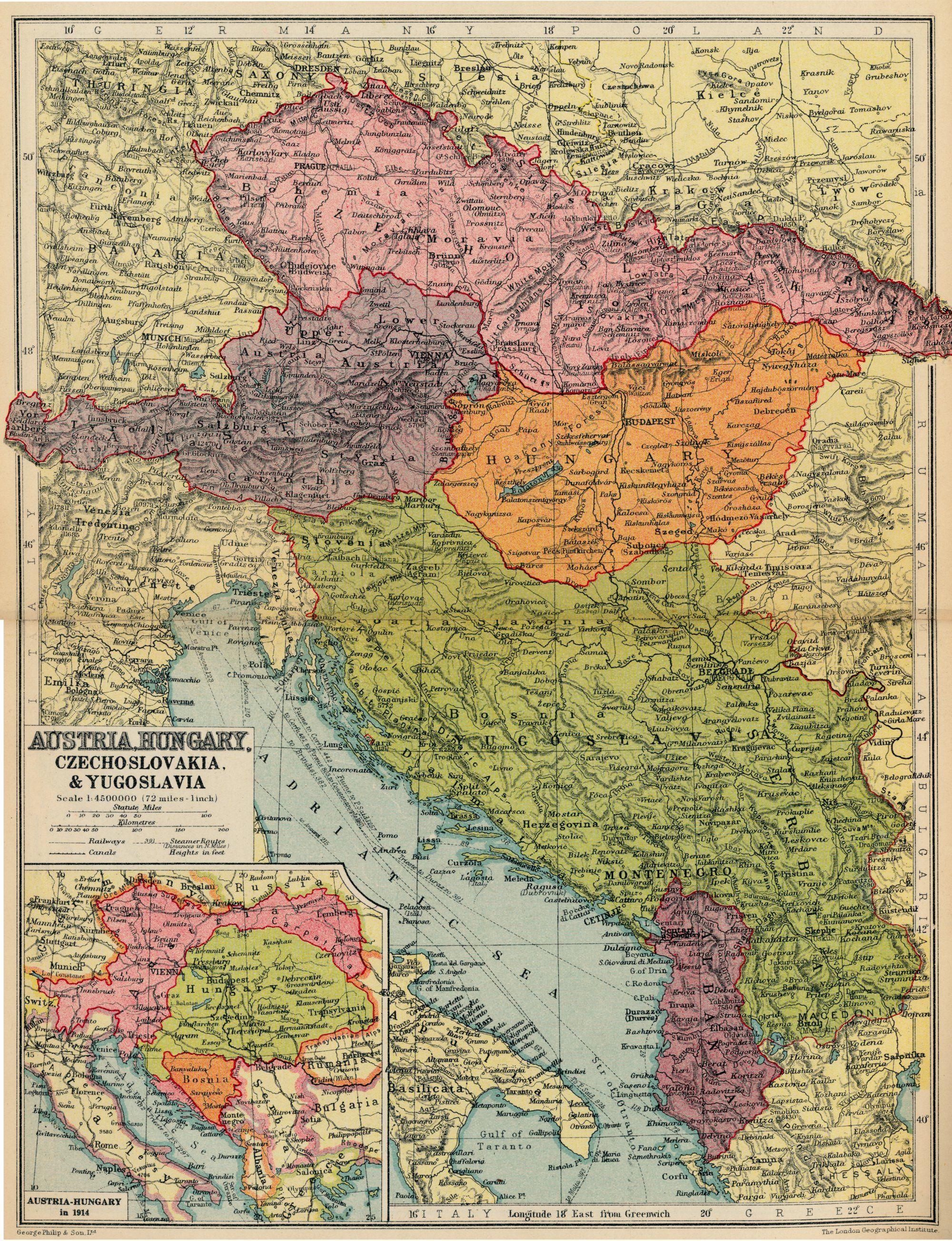 Czechoslovakia 1936. It was not Czechoslovakia until after 1945. One ...