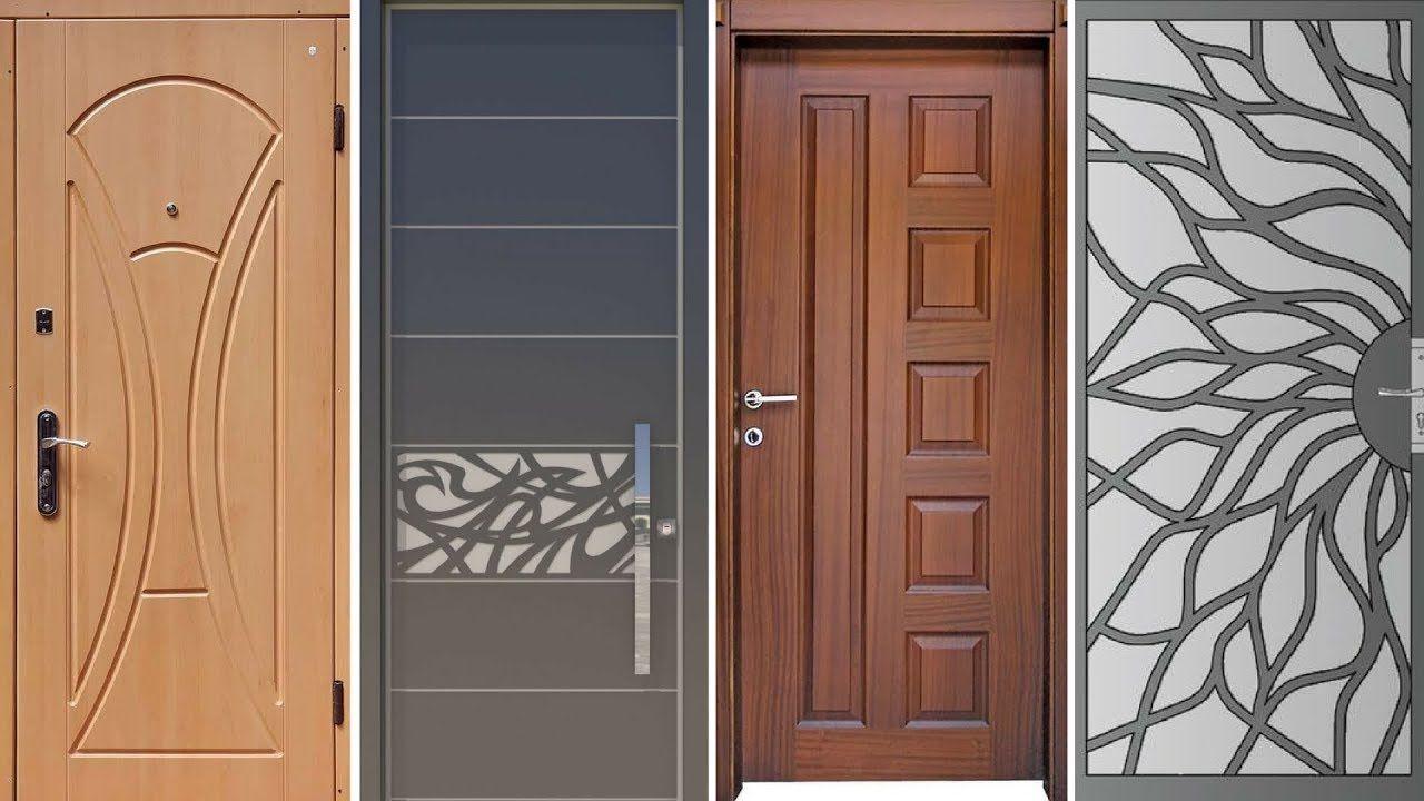 top 35 modern wooden door designs for home 2018   wooden
