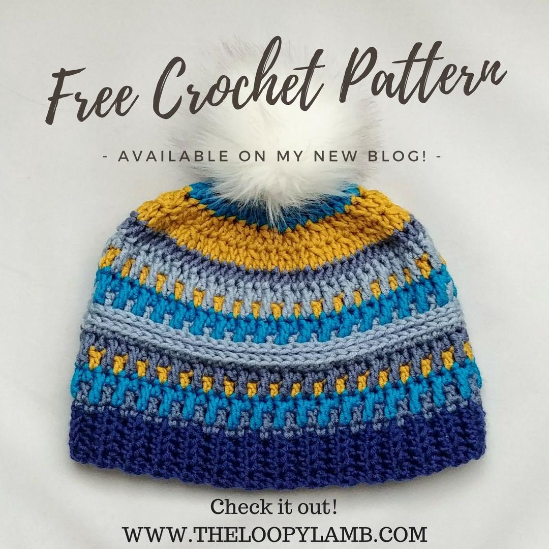 The Arctic Gem Beanie - Free Crochet Pattern | Crochet | Pinterest ...