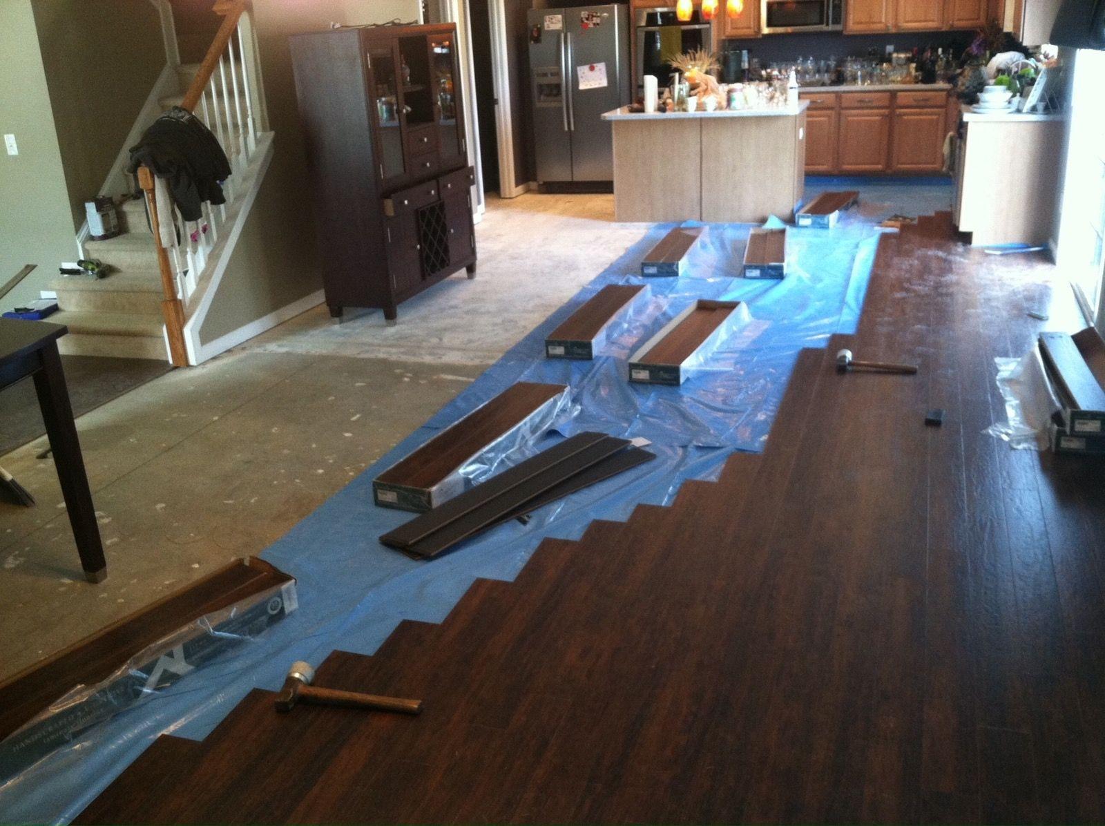 Hardwood Floor Vapour Barrier