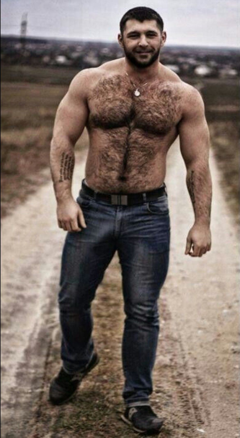 Nifty hairy best man