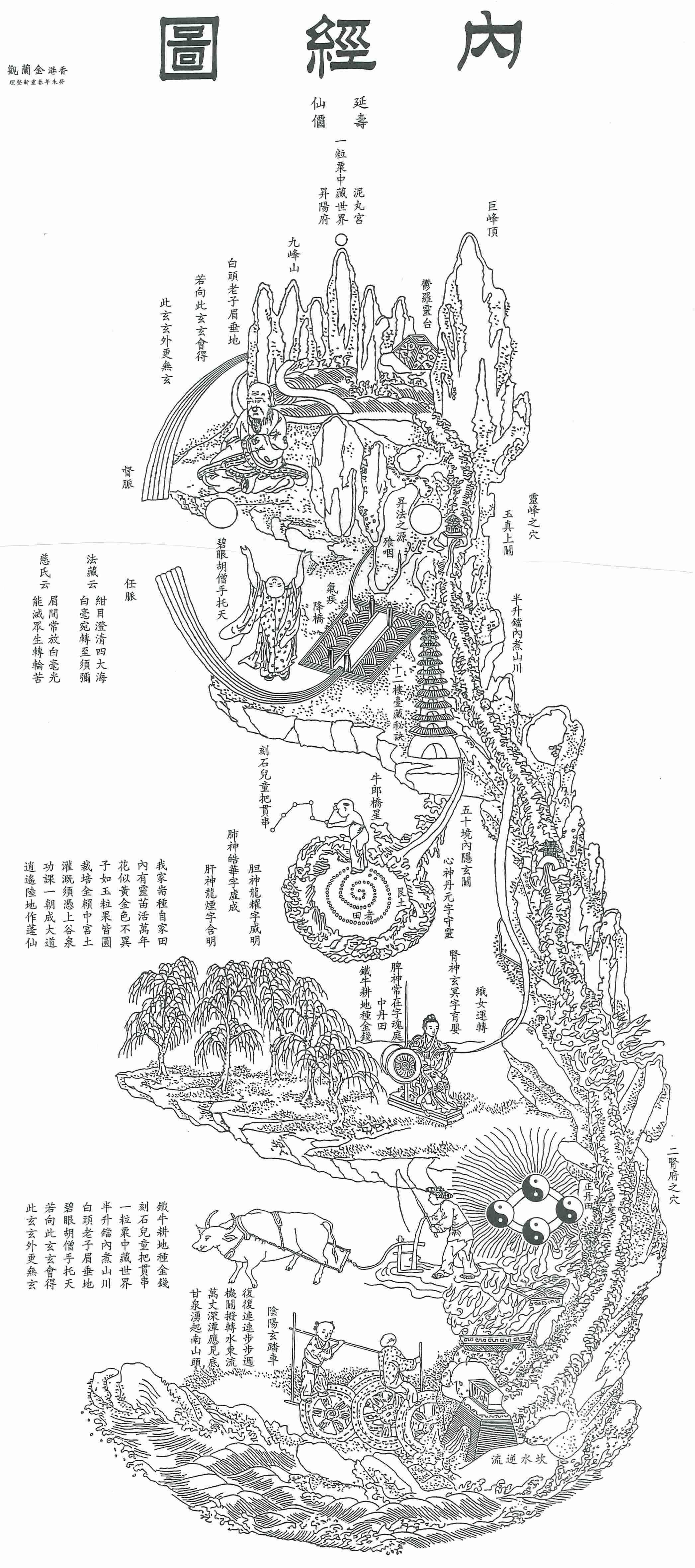 Ancient Taoist Art Daoist meditation | inc  in 2019 | Qigong, Taoism
