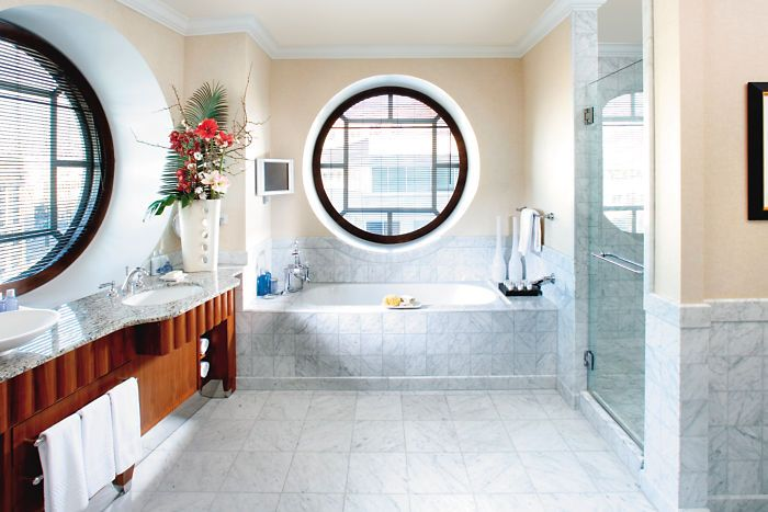 Washington Dc Hotel Photo Gallery Mandarin Oriental Hotel Washington White Marble Bathrooms
