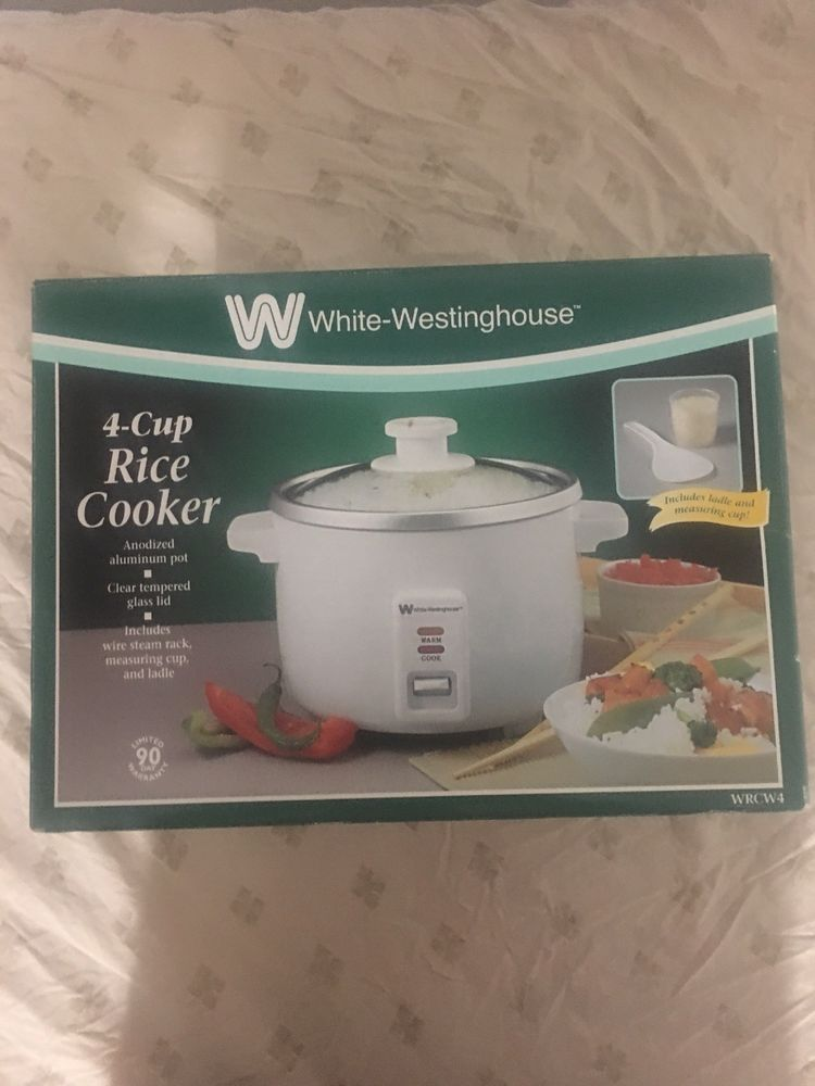 aaa58320e5b5 Rice Cooker - Rice Cooker ideas  ricecooker White-Westinghouse 4-cup Rice  Cooker -  25.00 End Date  Sunday Jan-27-2019 16 40 51 PST Buy It Now for  only  ...