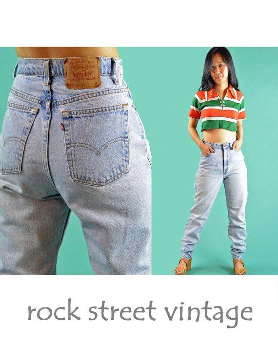 935ad3ef Vintage Levis High Waisted Jeans | fashón | High waist jeans, Levis ...