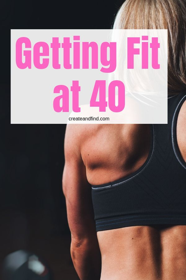 Getting fit at 40  If youre looking to change your lifestyle and get fit over 40 this ones for you
