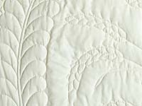 All Quilted Sheaves of Wheat Quilt; Amish Country Quilts- whole cloth white quilt-quilting is absolutely beautiful!
