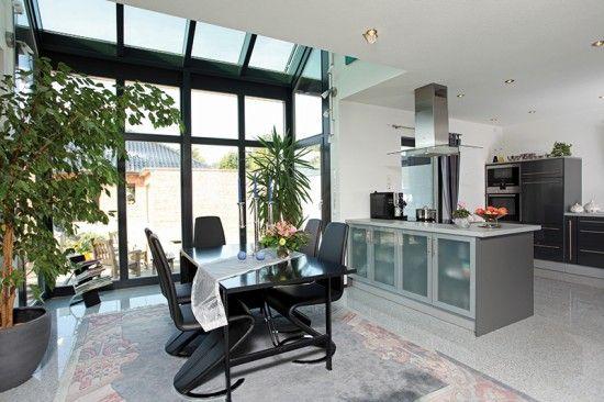 Fertighaus Wohnidee Küche und Esszimmer Wohnideen Küche und - bilder für küche und esszimmer