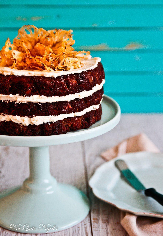 A Hawaiian Carrot Cake (gluten free) & How To Make