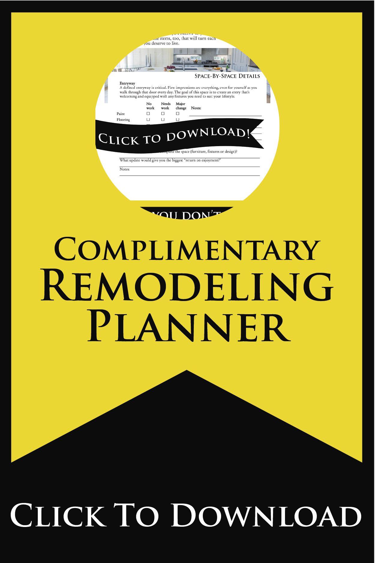 Remodeling Planner