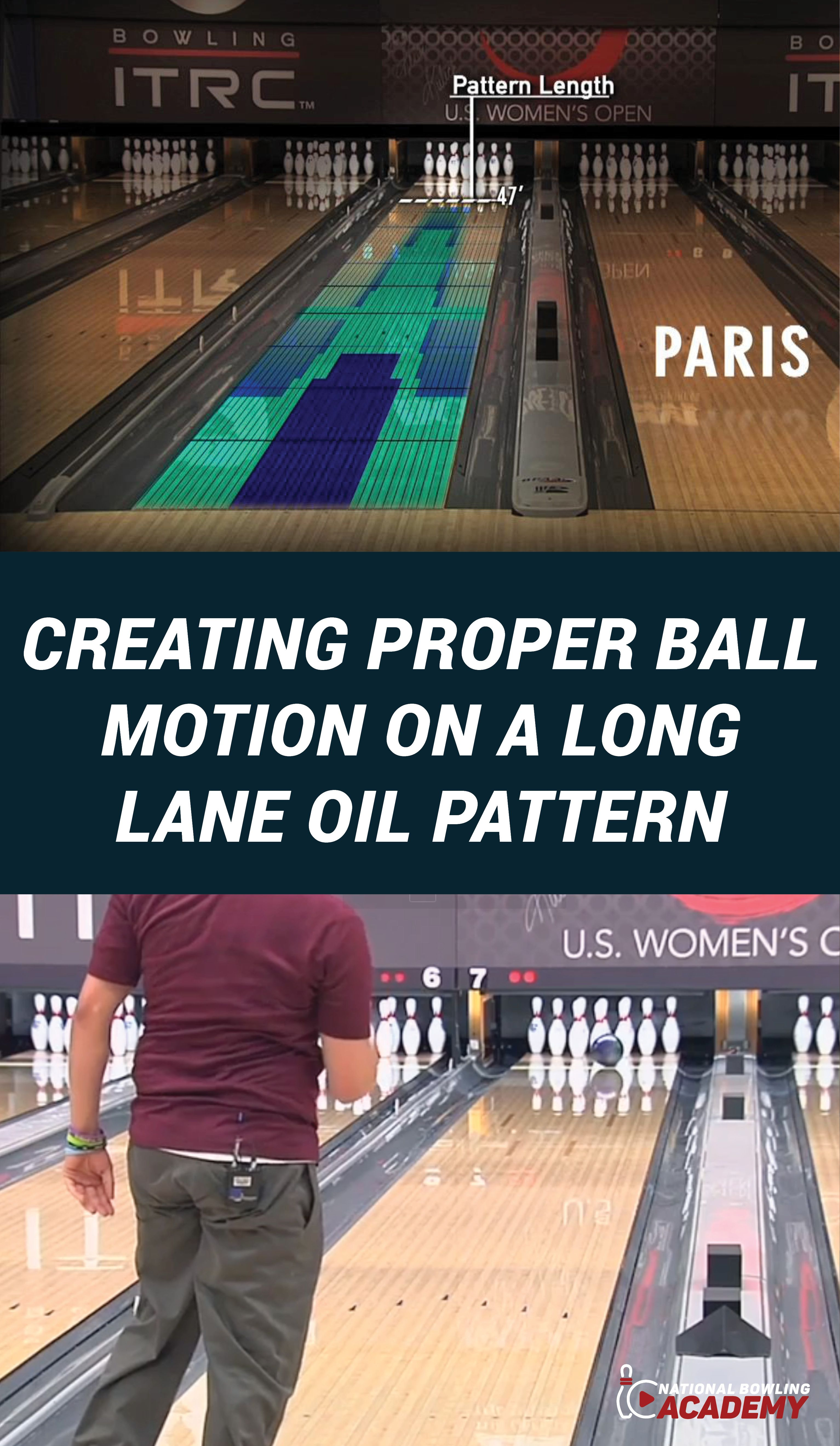 The Long Lane Oil Pattern Is Generally The Most Difficult Lane Condition To Play Especially When The Oil Is In Transition For Mos Bowling Bowling Tips Motion