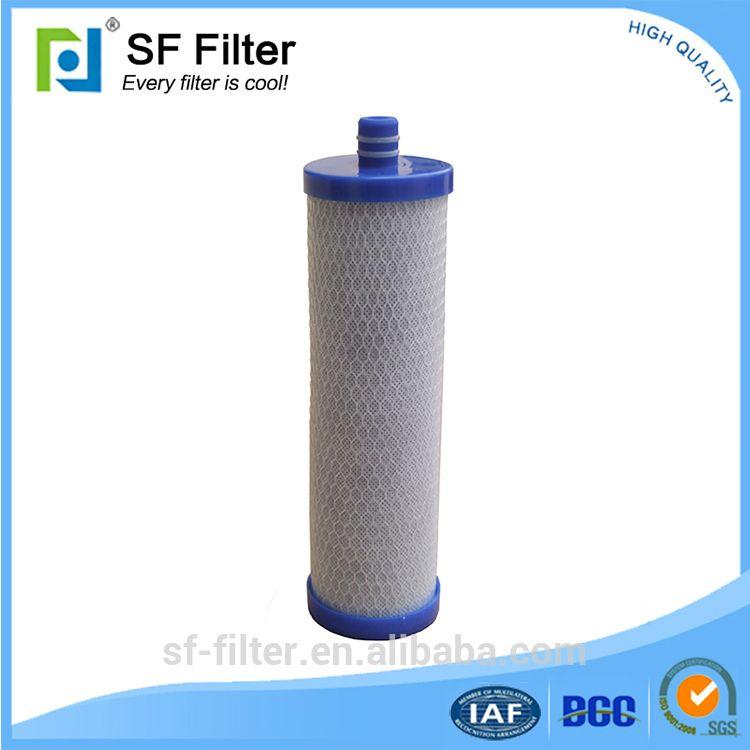 "High iodine adsorption value 10"" CTO filter cartridge"
