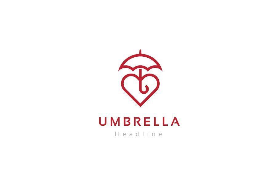 Umbrella Logo Template In 2020 Logo Templates Creative Logo Logos