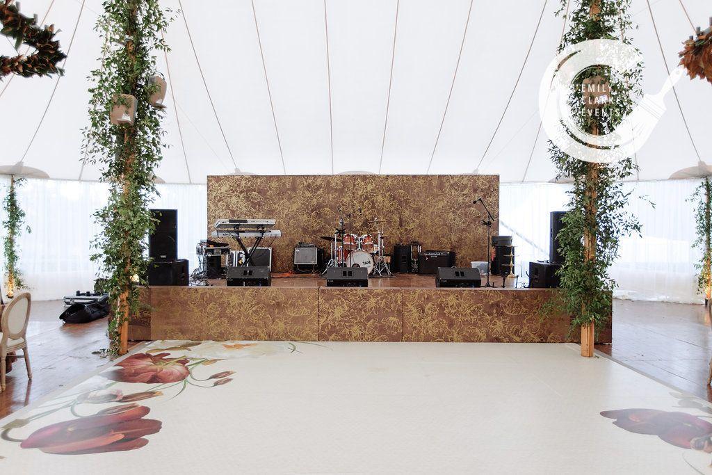 Band Backdrop Photo Wall Backdrops Wedding Events
