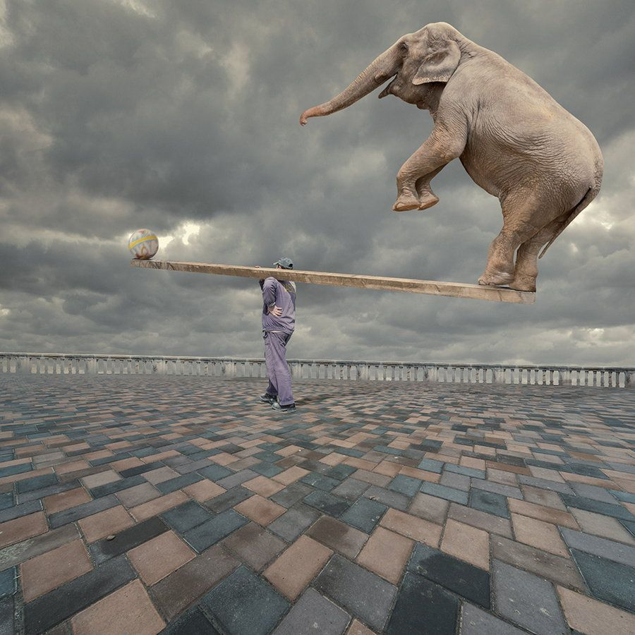 Balanced - Surrealismo / Surrealism - (Digital Art)