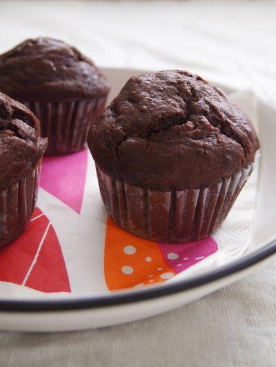 チョコレートマフィン