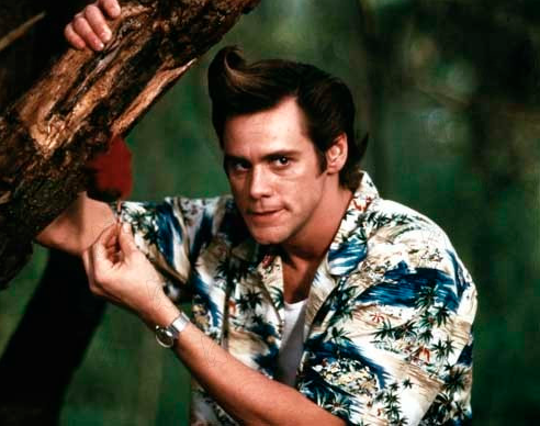 Jim Carrey In Africa Wearing A Hawaiian Shirt Hawaiianshirtdude Com Free Shipping Ace Ventura Jim Carrey Celebrity Photos