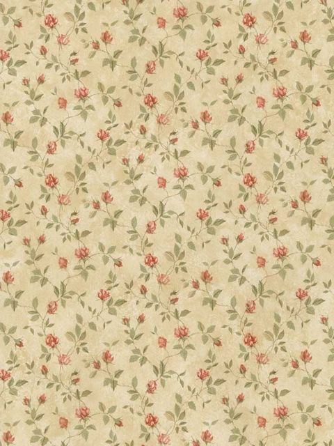 Floral Sidewall (With images) Vintage floral wallpapers