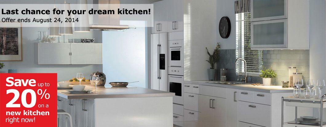 Beau IKEA, Dream Kitchen, Offer, 20 Off