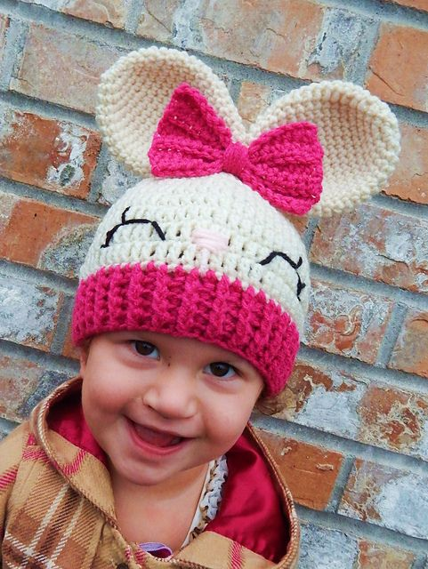 Olivia the Bunny Hat pattern by Carolina Guzman | Baby ...