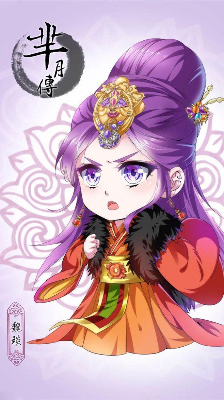 """""""Mi vé tháng"""" Q vật nuôi bản Anime chibi, Cute chibi"""
