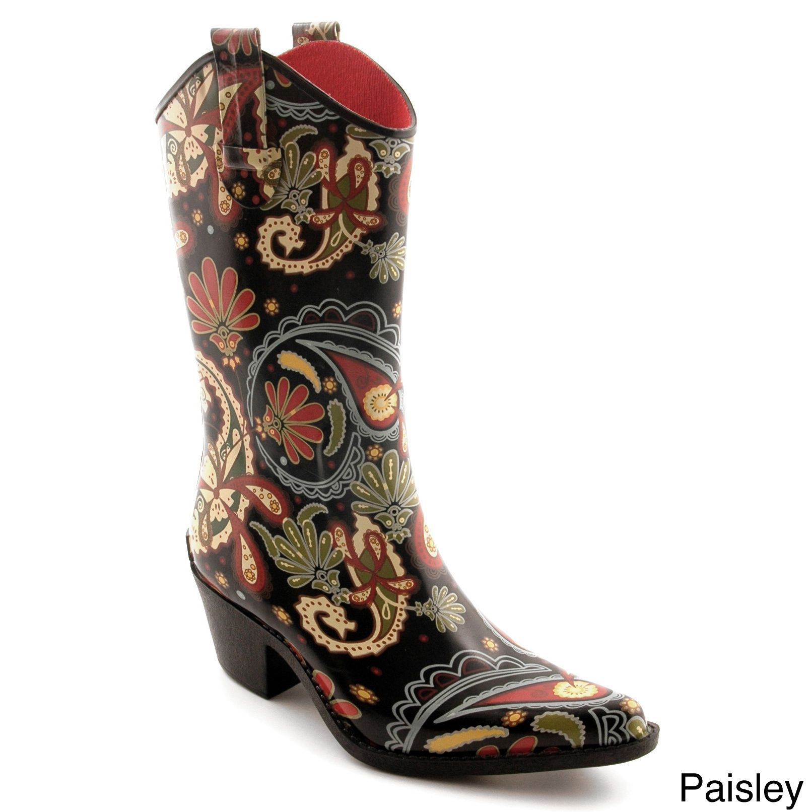 e0de672cdca Corkys Women's 'Rodeo' Printed Western Rain Boots | glad rags ...