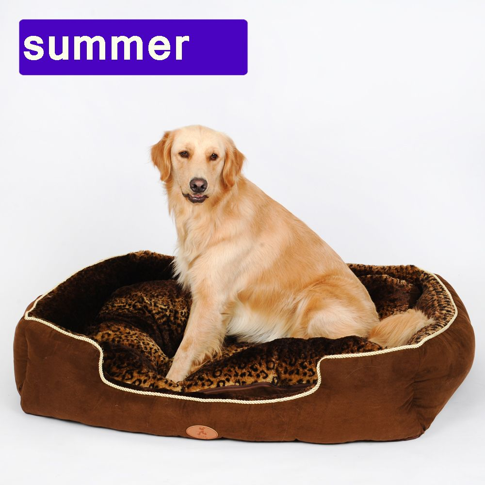 Washable new Big Size extra large dog sofa bed House Kennel Mat Soft