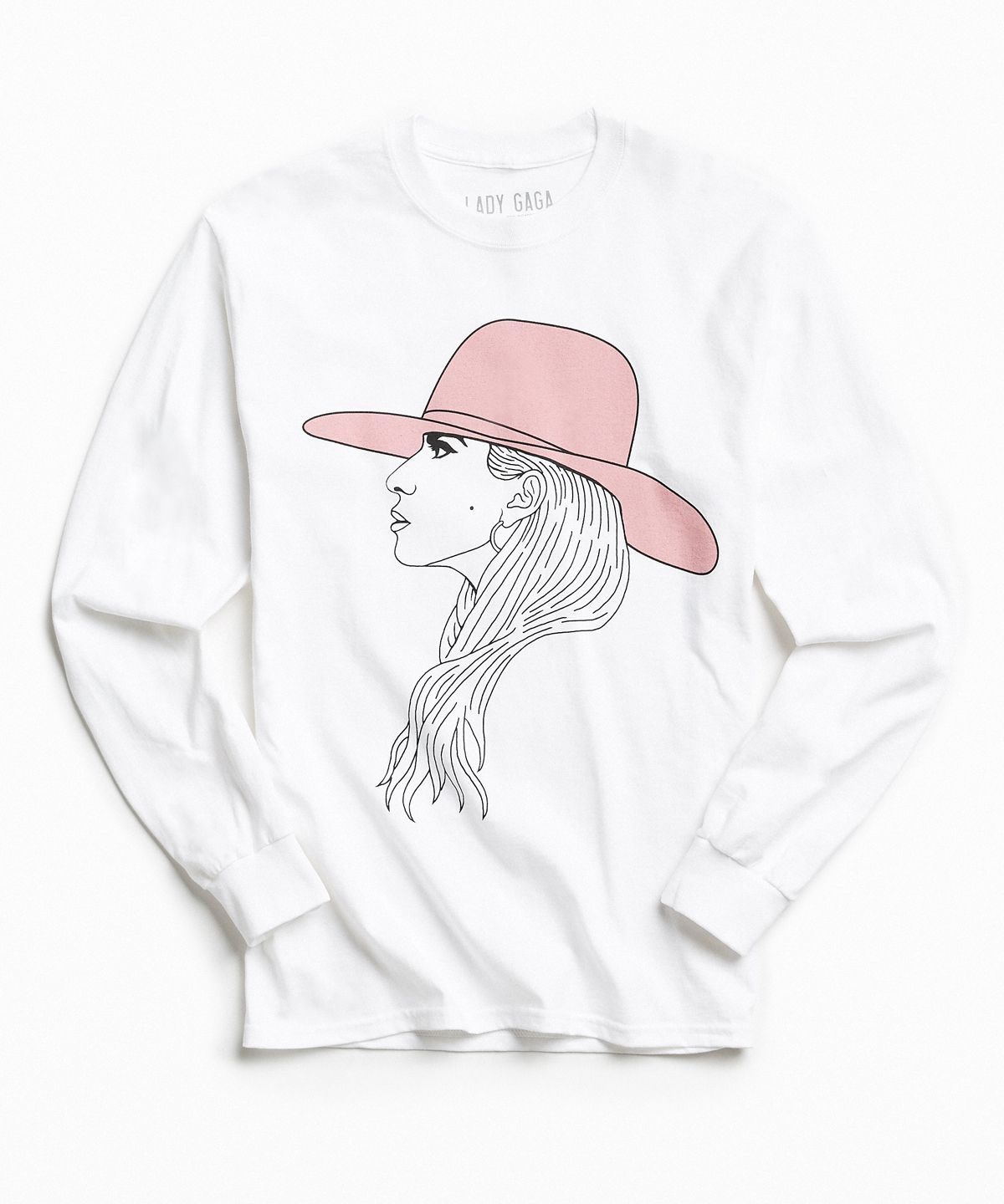 Lady Gaga S Joanne World Tour Urban Outfitters Merchandise Cotton Shirts For Men Long Sleeve Shirt Men Lady Gaga Joanne