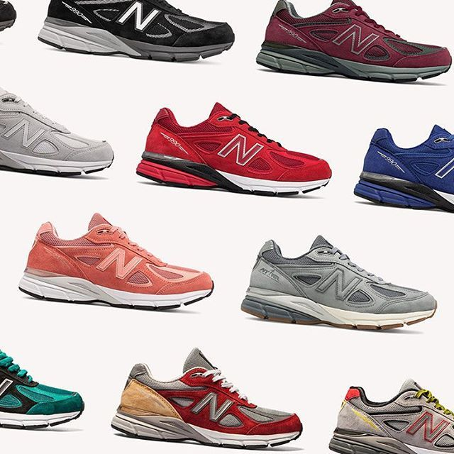 great deals 2017 best website shop The complete list of every New Balance 990v4 colourway is ...