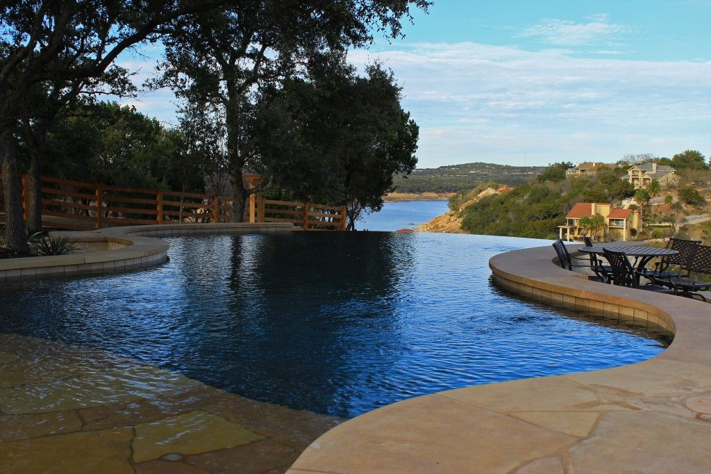 Vanishing Edge Freeform And Geometric Swimming Pool Designs By Cody Pools A Builder In Austin Dallas Ft Worth San Antonio Houston