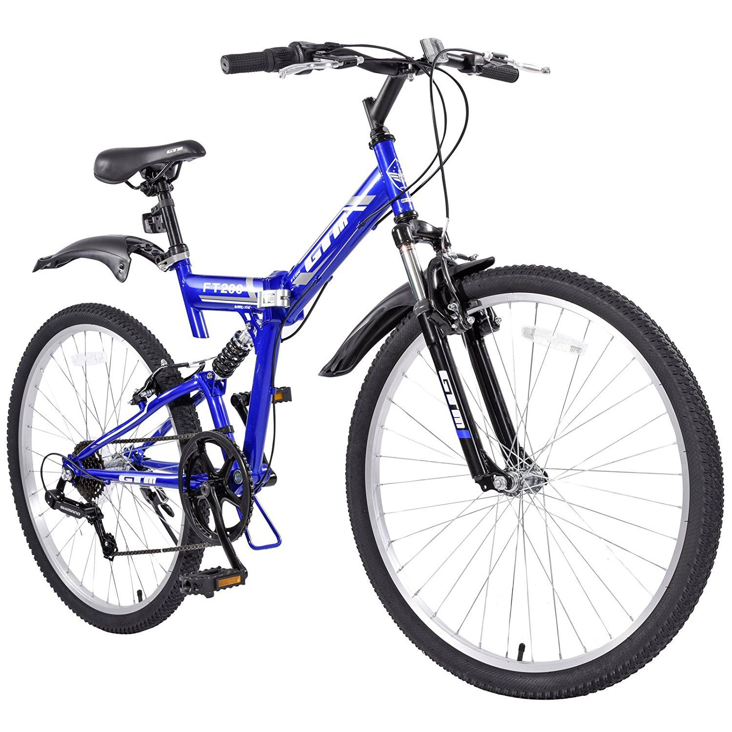 Check Out The Orkan Folding Mountain Bike 26 7 Speed With Hybrid