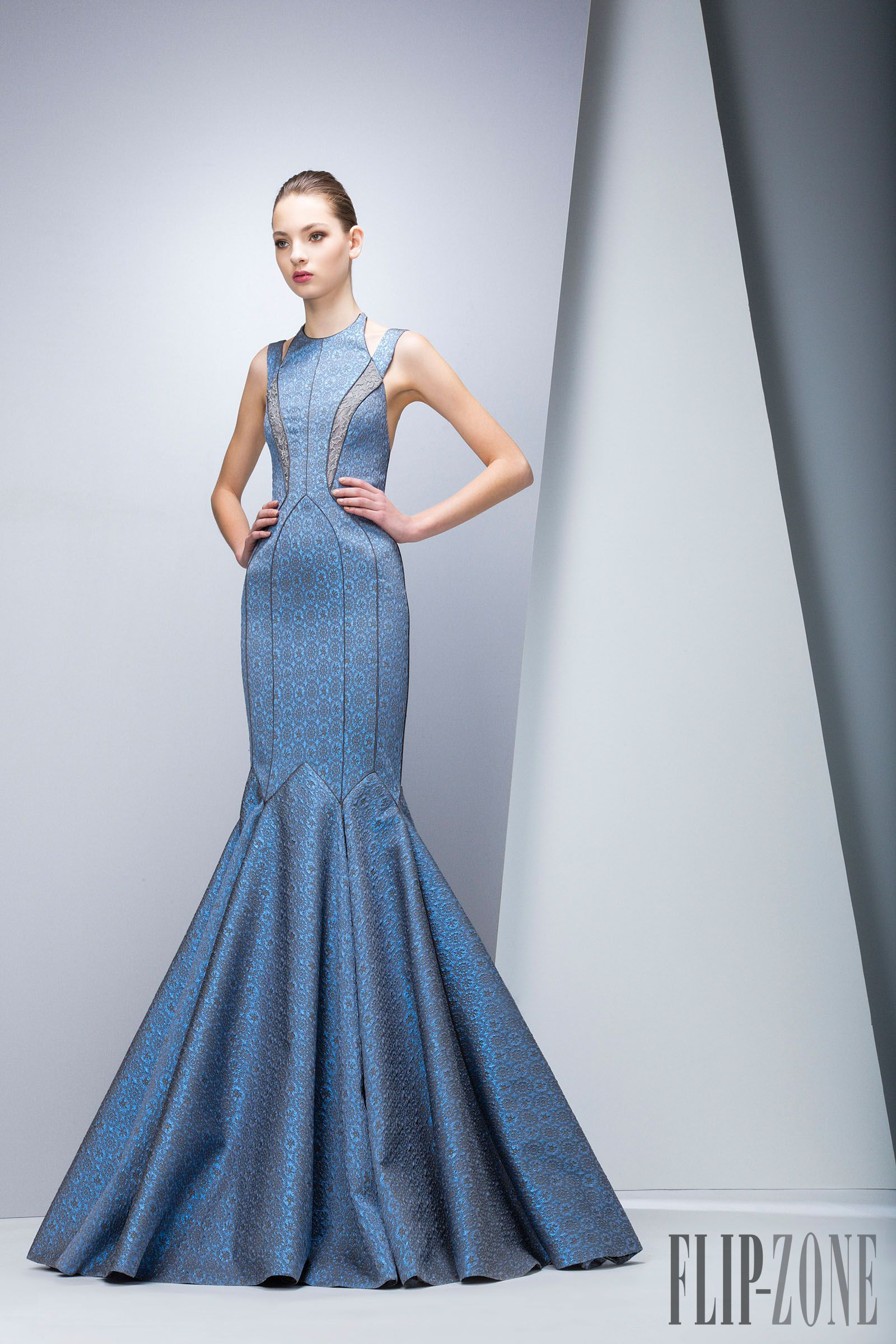 georges chakra sprom dress