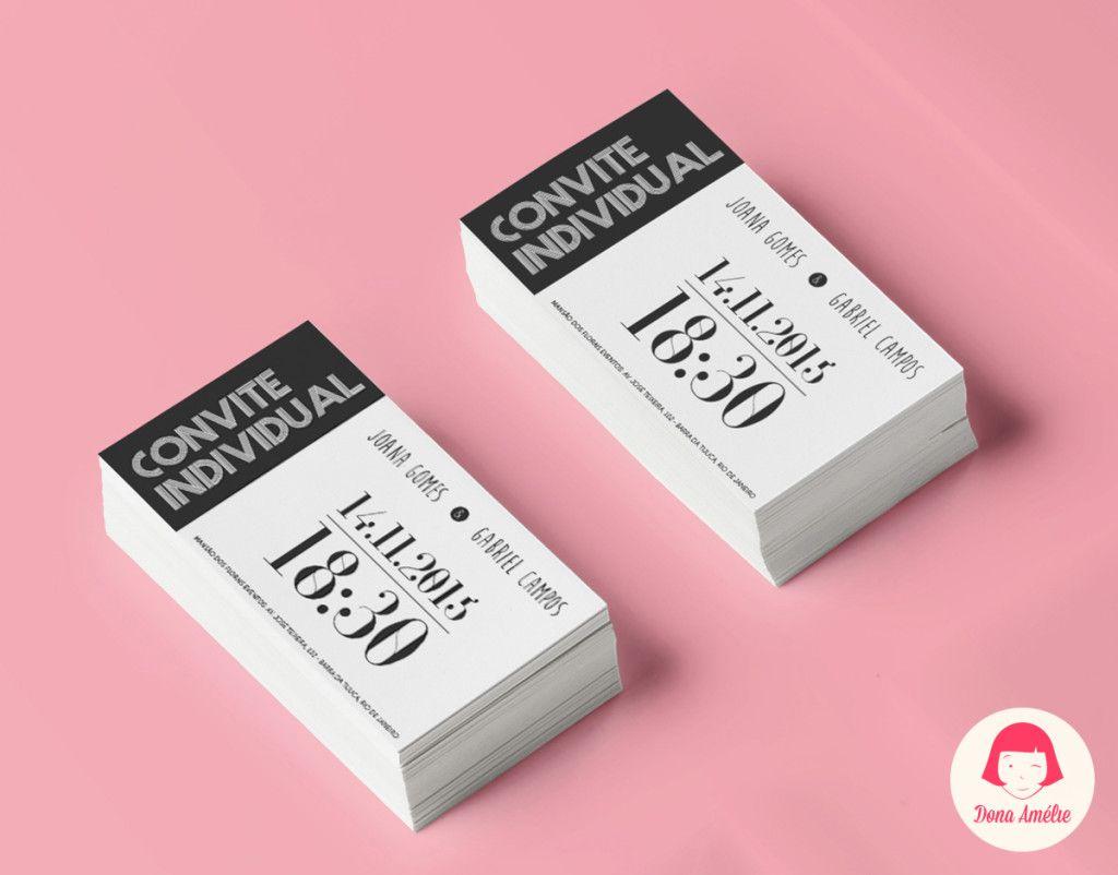 Ideias De Senhas ~ 25+ melhores ideias de Convite individual no Pinterest Convite individual de casamento