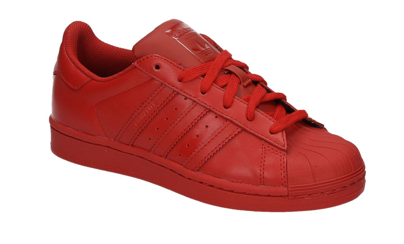 1ae64a5488c Adidas SUPERSTAR SUPERCOLOR rode lage sneakers | Shoes - Adidas ...