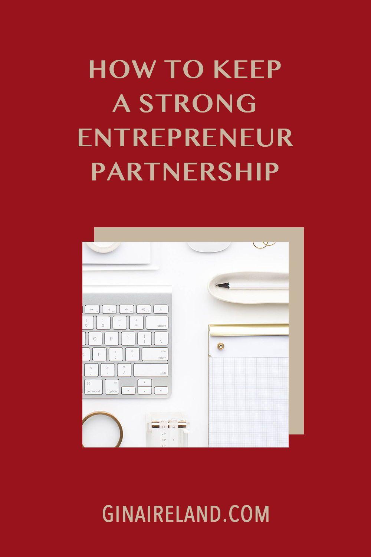 A Strong Entrepreneur Partnership & Carve The Turkey