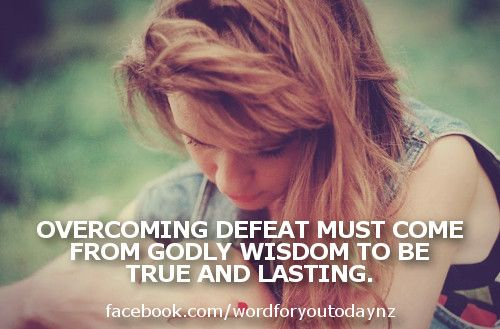 Today's word says that Godly wisdom will change your human ...