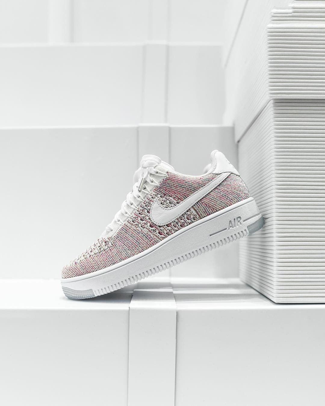 finest selection b1336 33eed Nike WMNS Air Force 1 Flyknit Low. Available at the Kith Women s Store Kith  Brooklyn and KithNYC.com.  160 USD. by kith