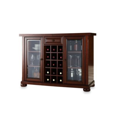 Buy Crosley Alexandria Sliding Top Bar Cabinet From Bed