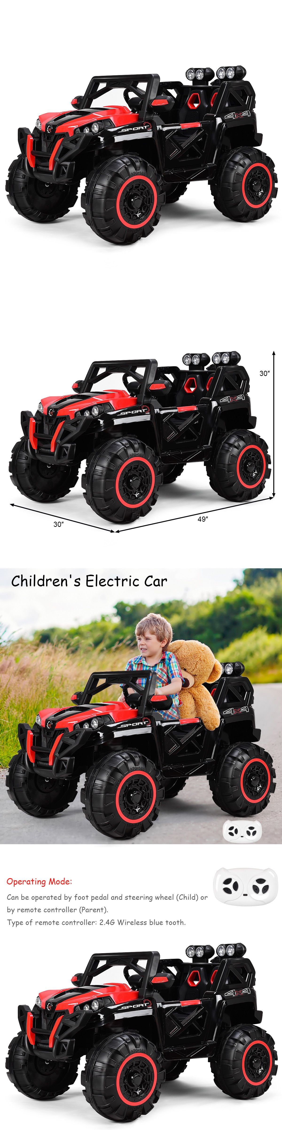 Battery Operated 19072: 12V Kids Ride On Racing Off Road