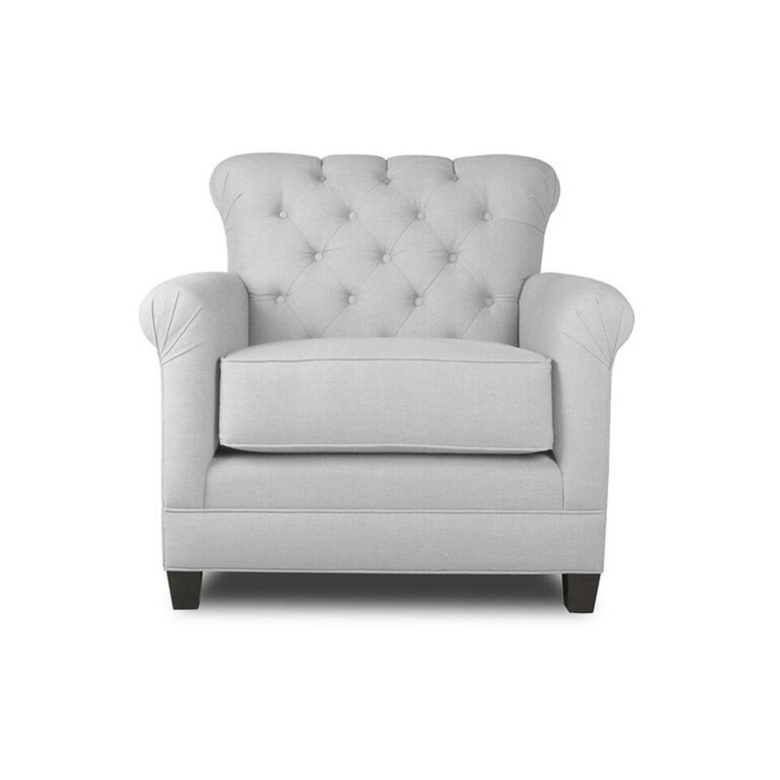 Amazing South Cone Delmar Tufted Accent Chair White In 2019 Tufted Ibusinesslaw Wood Chair Design Ideas Ibusinesslaworg