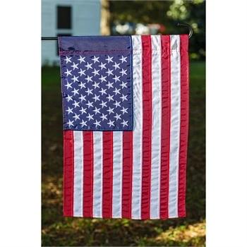 American Flag Garden Evergreen Flags Garden Flags Flag