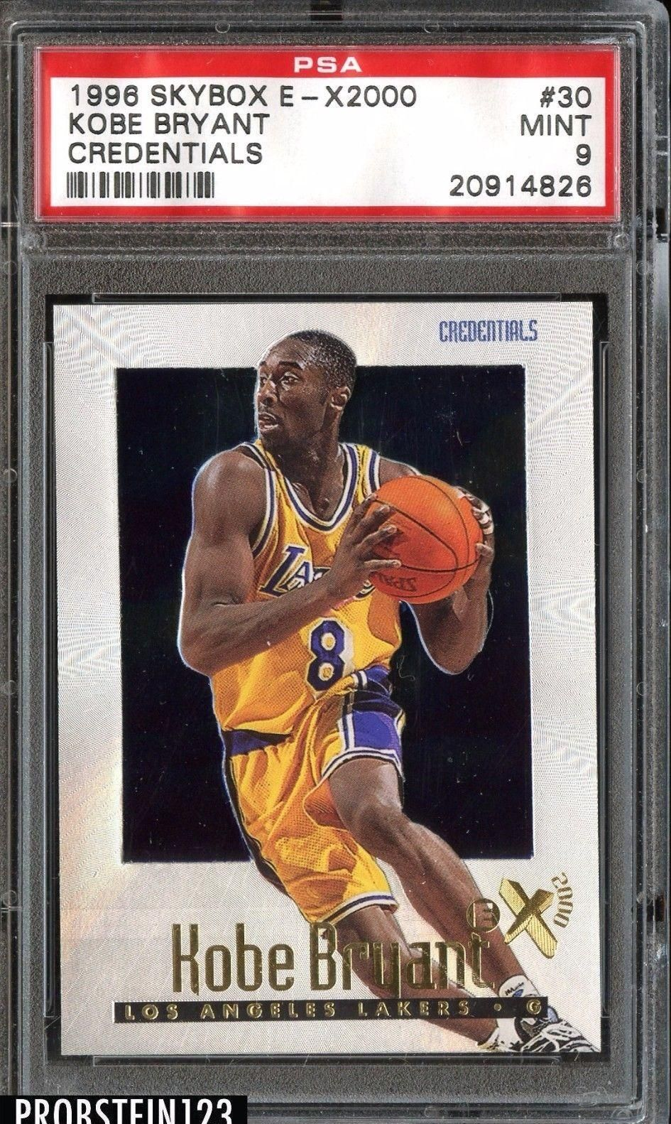 32a24a5b328c  mothersday  AdoreWe  SportsMemorabilia.com Teamware   Logo -  SportsMemorabilia.com 1996-97 Skybox E-X2000 Credentials  30 Kobe Bryant  Lakers RC Rookie  499 ...